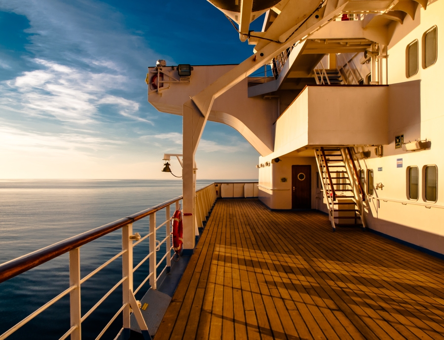 Sunset onboard Spirit
