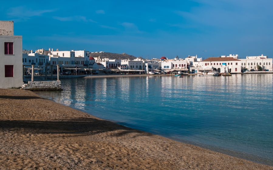 Morning in Mykonos