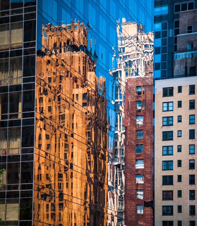 Manhattan reflections-2